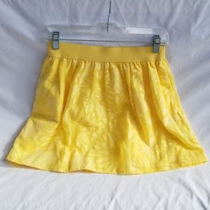 Lilly Pulitzer Yellow Skirt Size Small